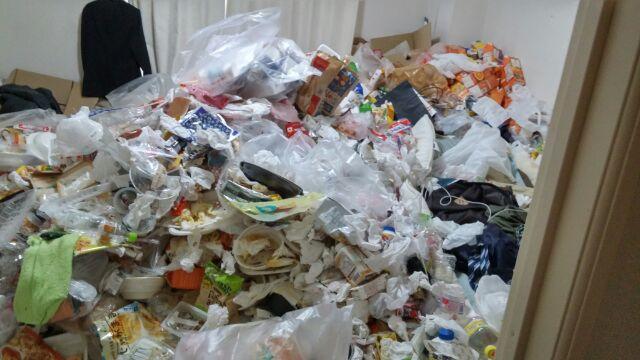 【野々市市】ゴミ屋敷のお片付け☆半日ですっかり綺麗になりお喜びいただけました!