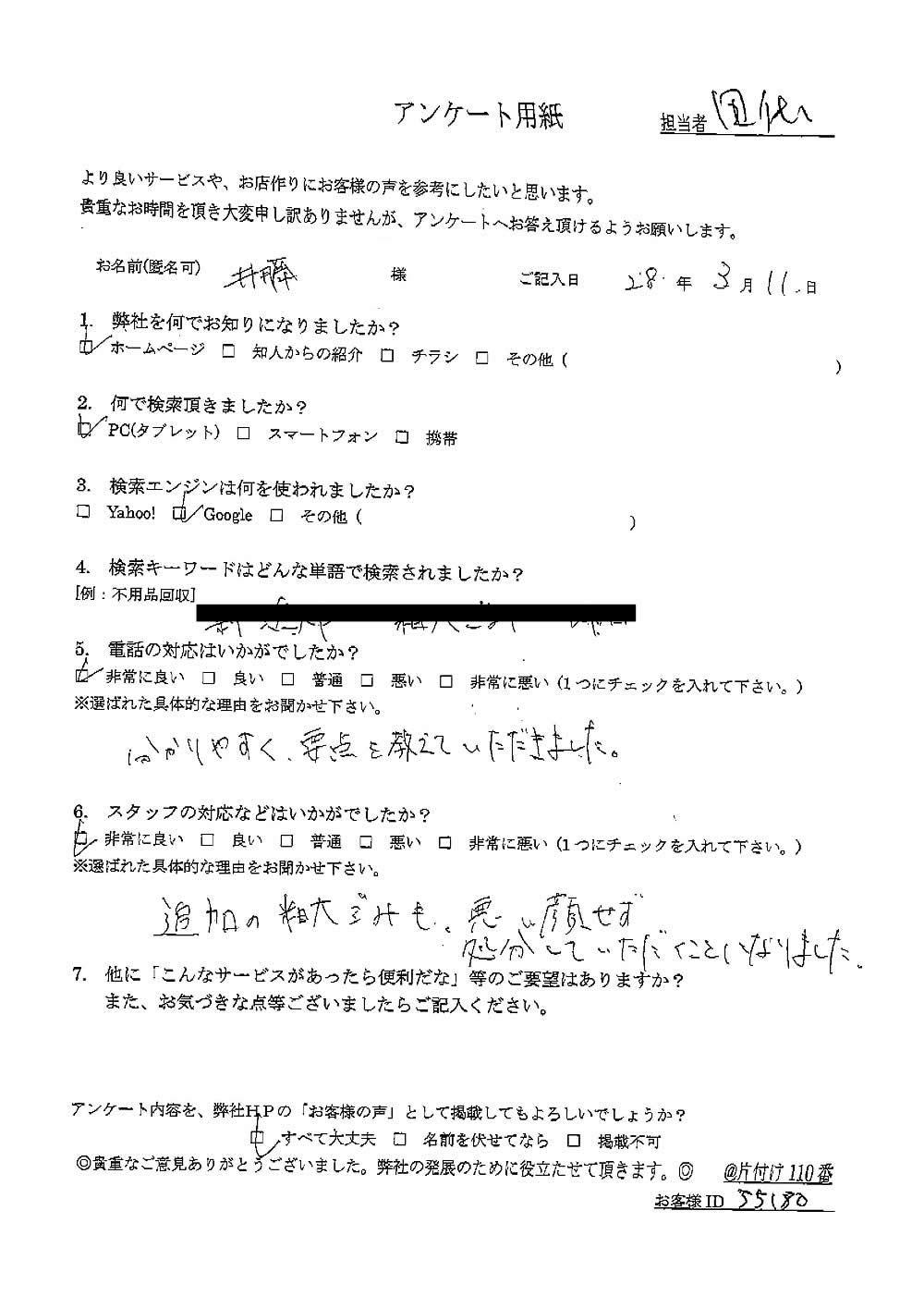 【新潟市】耐火金庫の回収ご依頼☆壊れた不用品が片付きお喜びいただけました!