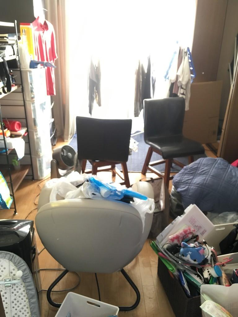 【北九州市八幡西区】不用品処分と簡易清掃・片付けのご依頼☆綺麗になったお部屋にお喜びいただけました!