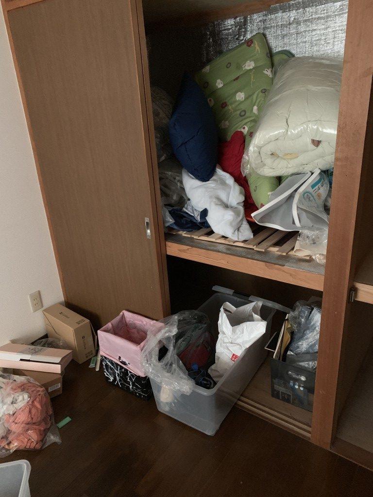 【宮崎市】3LDKの不用品処分+簡易清掃のご依頼☆エアコン取り外しにも対応できご満足いただけました!