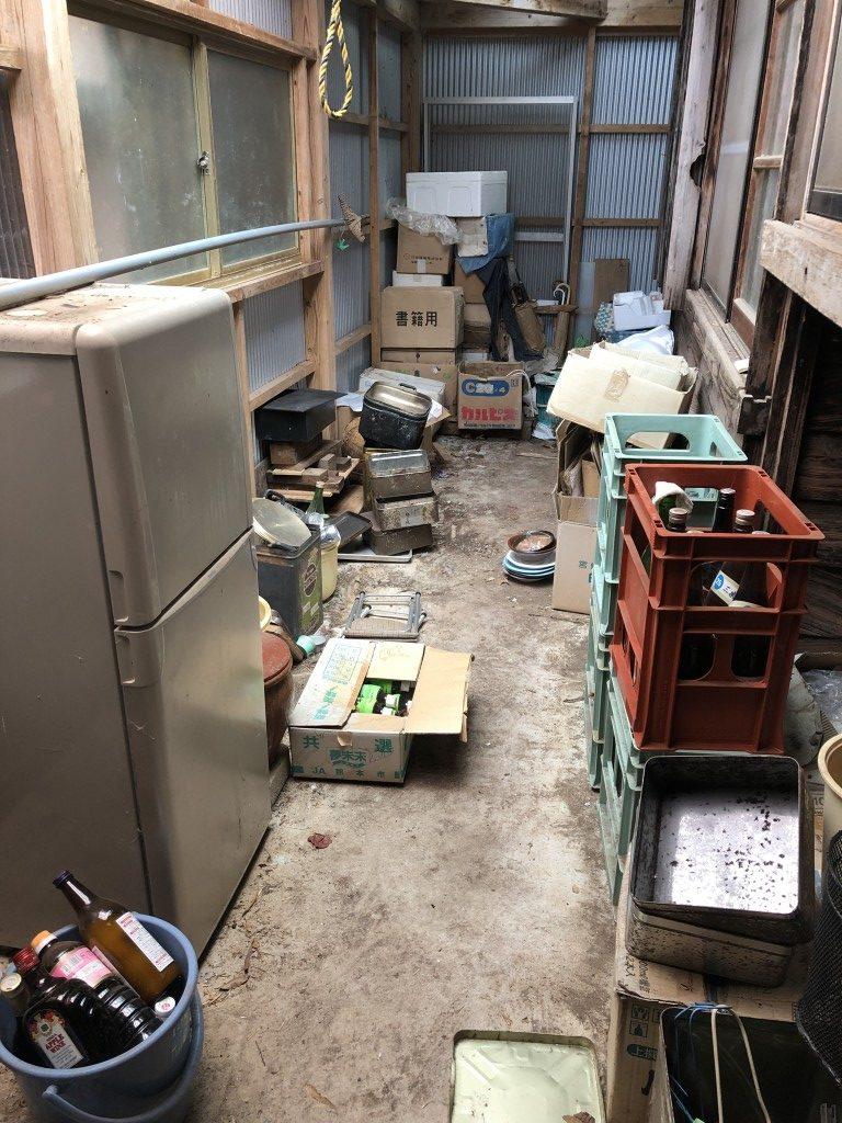 【佐伯市】仏壇など家財道具一式回収のご依頼☆お家がすっかり片付きお喜びいただけました!