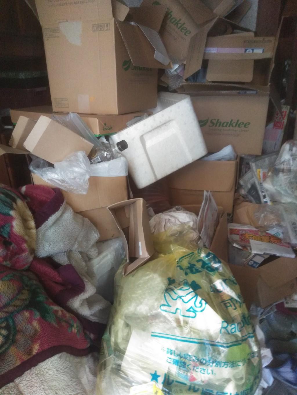 【今治市北日吉町】2tトラック積みホーダイパックでの回収☆一気に処分することができ、大変満足していただきました!