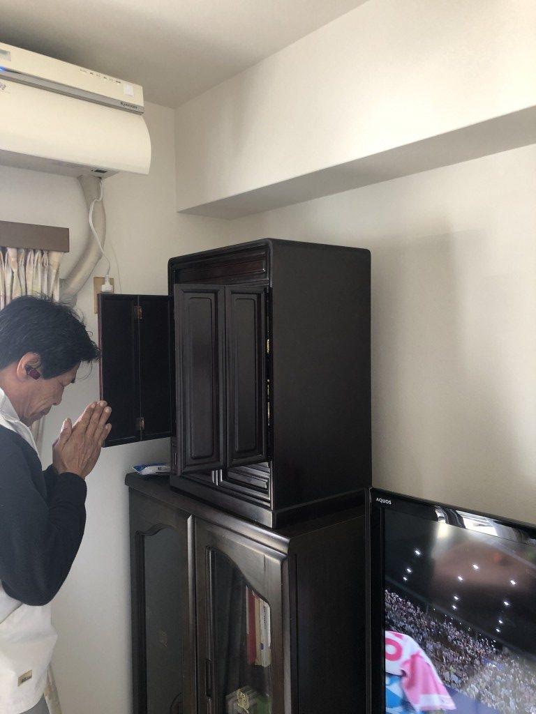 【河内長野市向野町】仏壇の回収☆お得な回収お値段にとても喜んでいただきました!