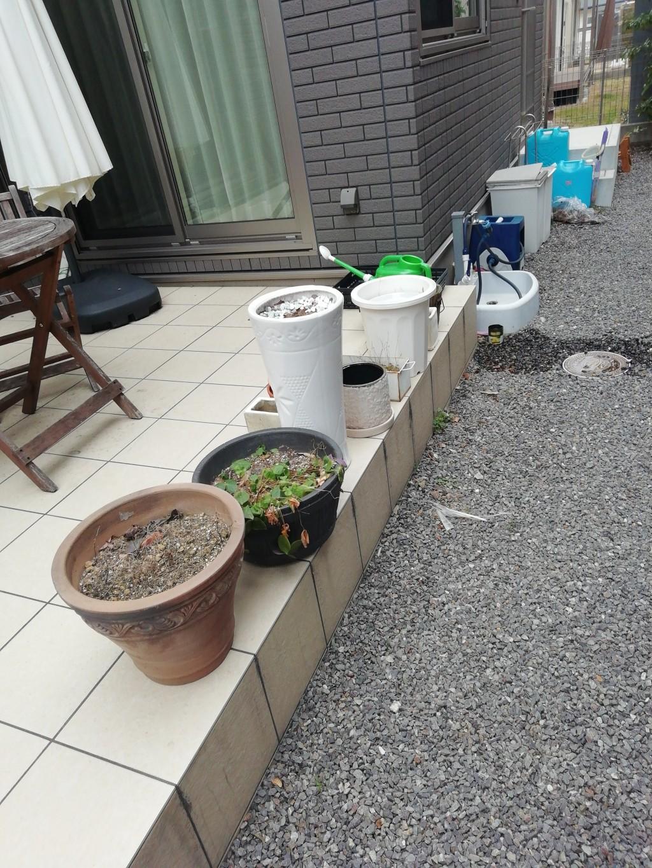 【大津市】砂利の回収作業☆処分に困るものが撤去できお喜びいただけました!