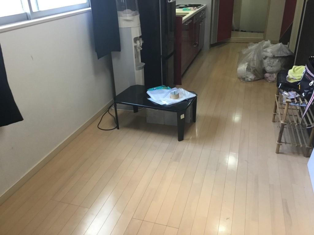 【大阪市中央区】引っ越し作業と不用品の回収☆1度にすべて対応できる対応力にご満足いただけました!