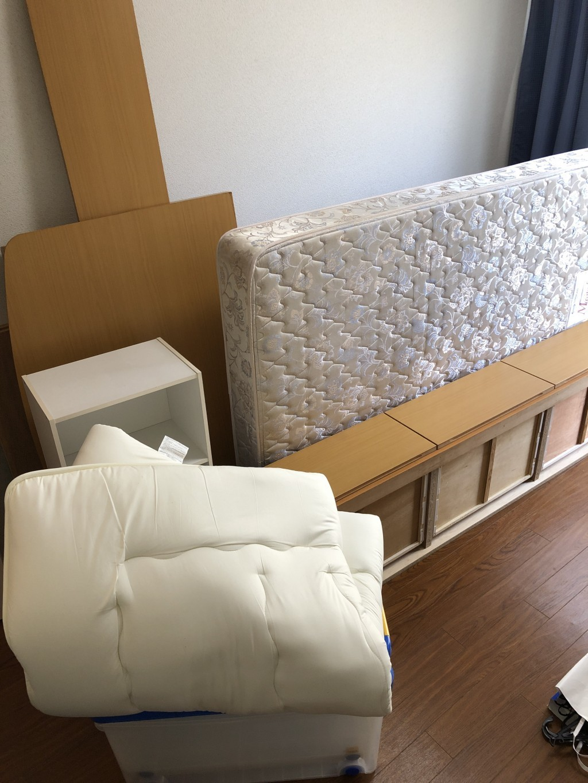 【栗東市】ベッドやタンスなどの家具回収処分ご依頼お客様の声