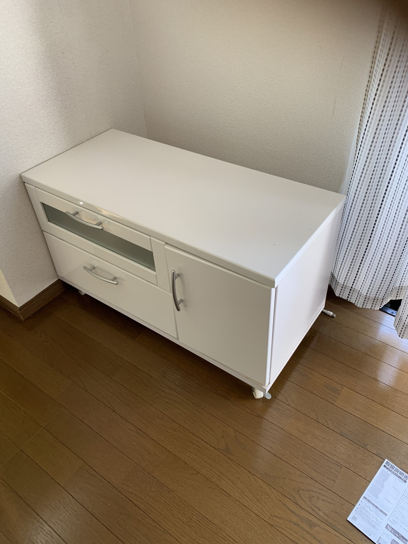 【宮崎市】食器棚やテレビ台の不用品回収・処分ご依頼 お客様の声