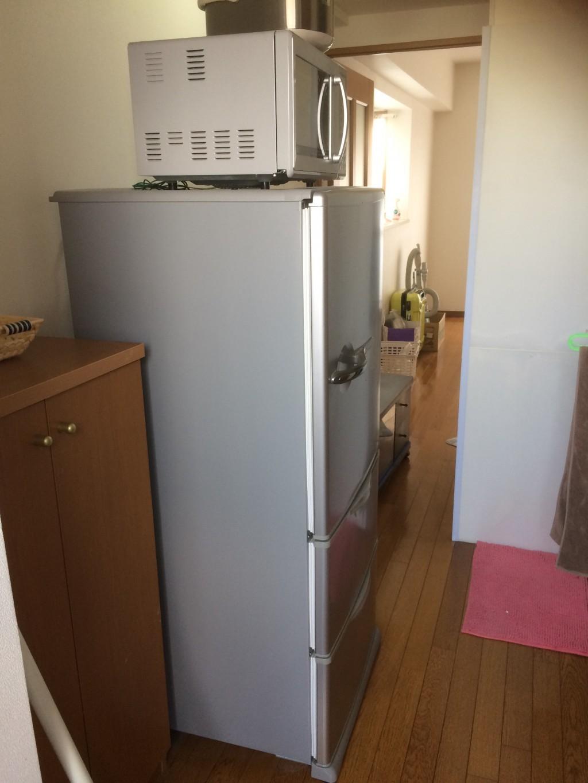 【羽島市福寿町】冷蔵庫など軽トラック1台程度の不用品回収☆スタッフの素早い対応に満足していただきました!