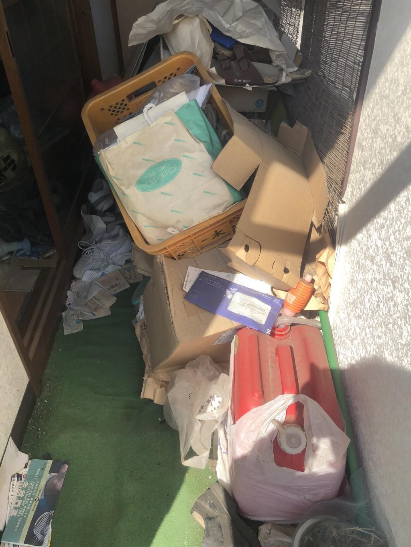 【玖珠町】ゴミ屋敷状態のお部屋の不用品回収とハウスクリーニング☆立ち会いなしでも作業可能な手軽さにお喜びいただけました!