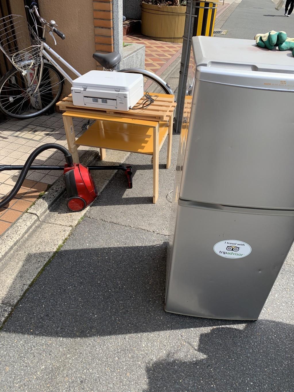 【京都市左京区】冷蔵庫や掃除機の出張回収・処分ご依頼 お客様の声