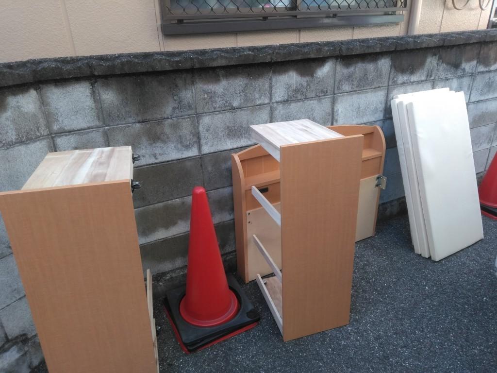 【徳島市沖浜町】シングルベッドの回収・処分ご依頼 お客様の声