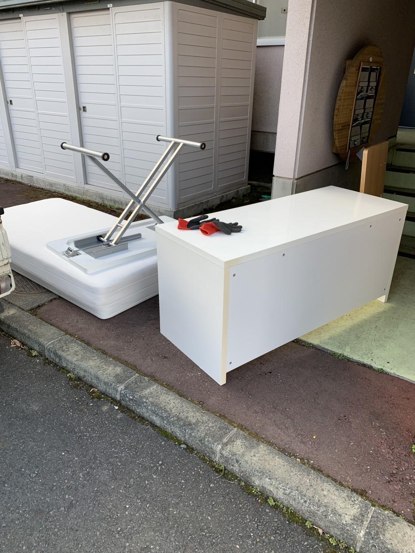 【奥州市】テーブルや運動器具の出張回収・処分のご依頼 お客様の声