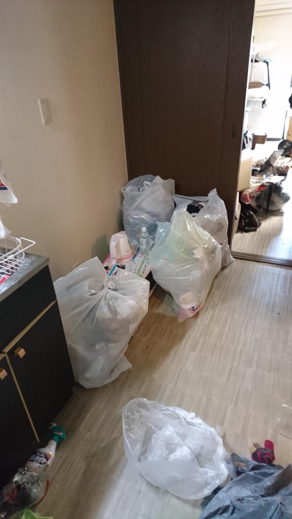 【高知市針木本町】冷蔵庫など軽トラック一台程度の不用品回収☆迅速で丁寧な対応に喜んでいただきました!