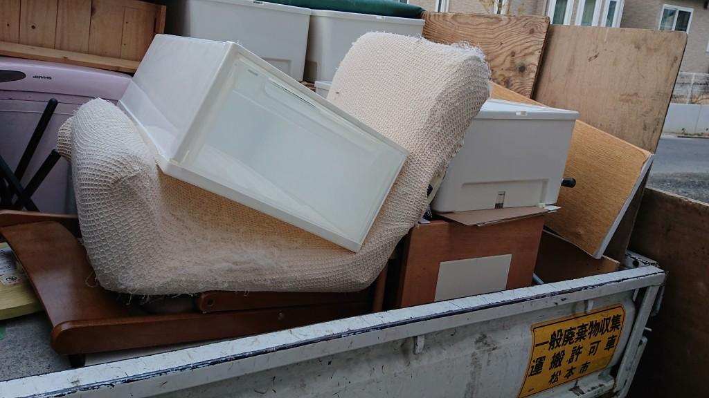 【松本市】本棚や衣装ケースの不用品回収・処分ご依頼 お客様の声