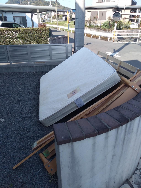 【霧島市】ダブルベッドの出張回収・処分のご依頼お客様の声