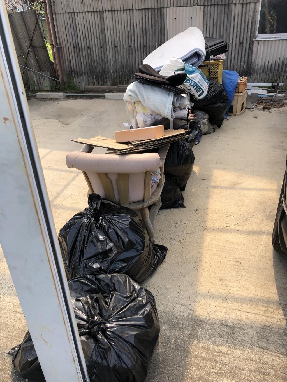 【玉名市】整理タンス、扇風機などの回収☆ゴミの山が早急に片付いたとお喜びいただけました!
