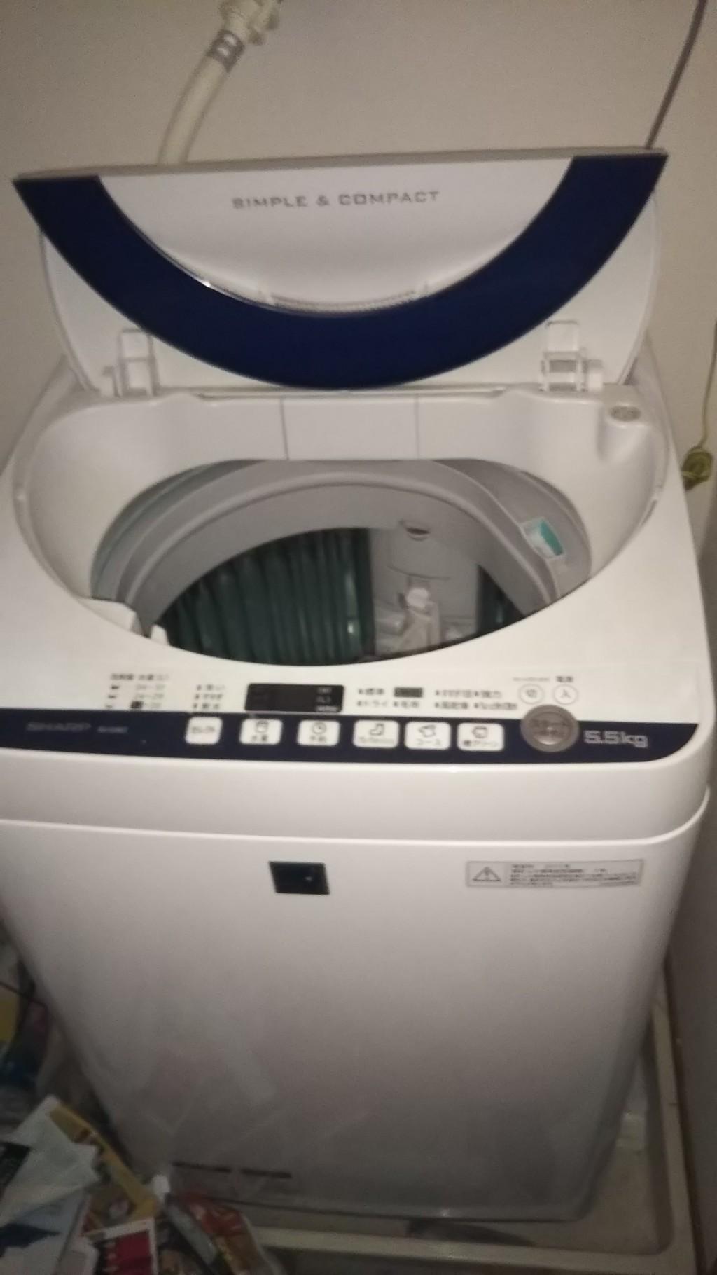 【松江市】洗濯機と折り畳みベッドの処分☆急な引っ越しにも翌日対応でお喜びいただけました!