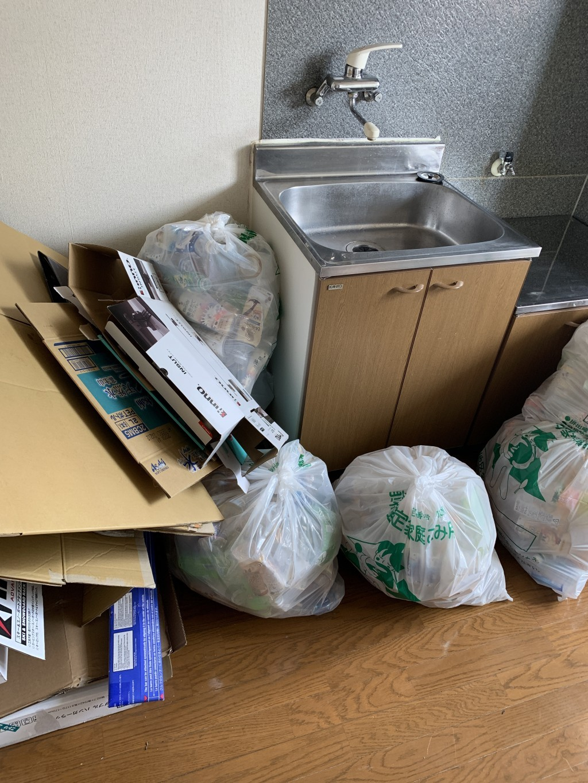 【前橋市新前橋町】お引っ越しに伴う不用品の回収☆退去日間近のお客様に、迅速な対応でご満足いただけました!
