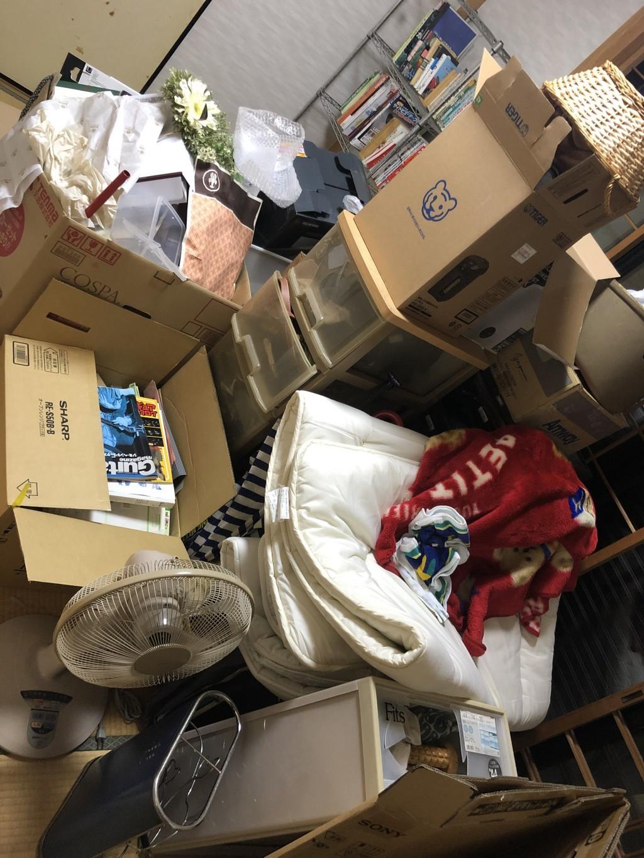 【草津市岡本町】トラック積み放題パックでの回収☆電話オペレーターの対応が良かったとご満足いただけました!