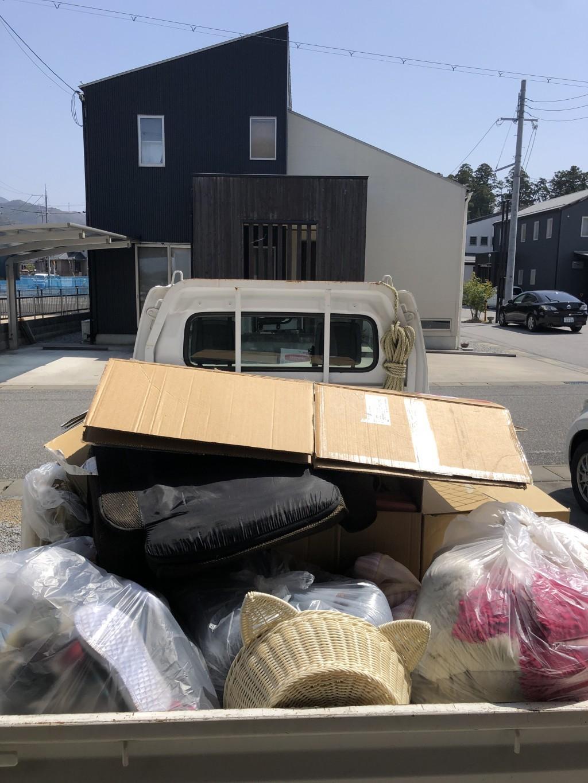 【犬上郡多賀町】軽トラック1台分の不用品出張回収・処分ご依頼