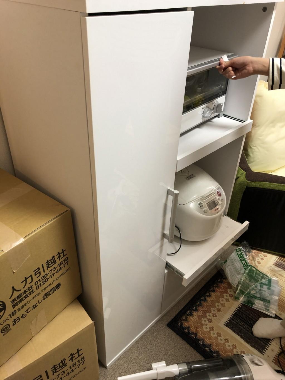 【京都市右京区】食器棚の出張不用品回収・処分のご依頼 お客様の声