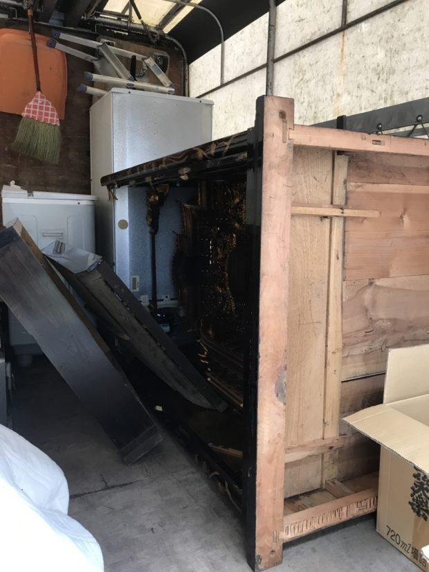 【砺波市高道】電化製品・お仏壇・金庫の回収☆処分の難しいものをまとめて回収しご満足いただけました!