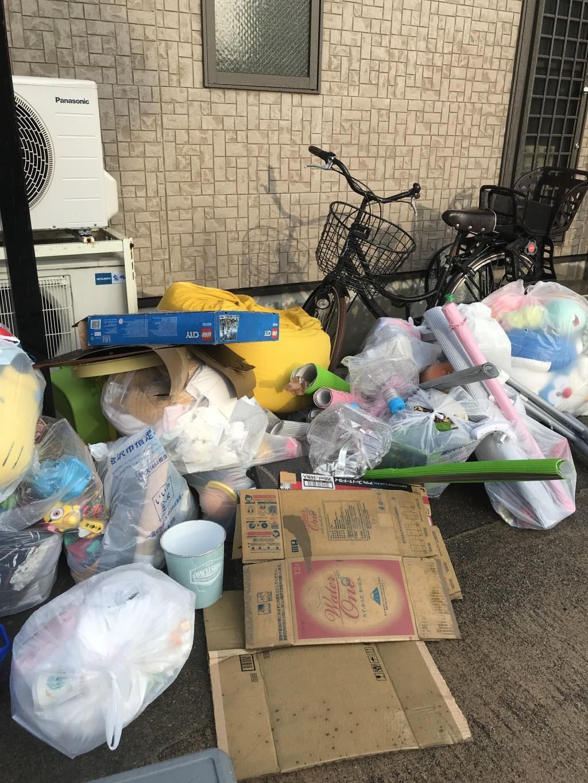 【金沢市】収納棚、家庭ごみなどの回収☆即日対応と分別なしの回収で楽に処分できたとお喜びいただけました!