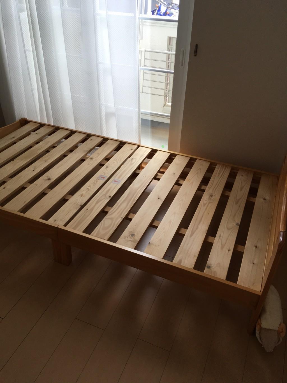 【浜松市東区】ベッド枠やカラーボックスの回収☆物の増減にも柔軟に対応できお喜びいただけました!