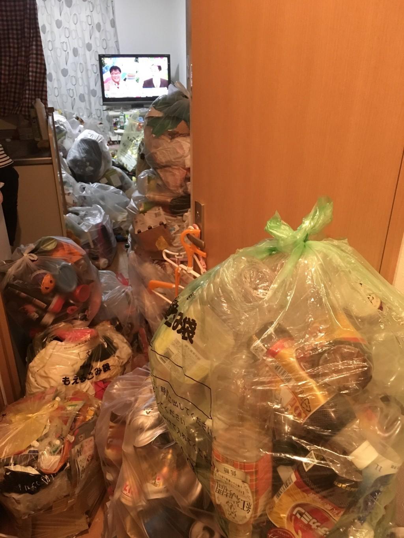 【霧島市】2tトラックでの家庭ごみ回収事例☆家中のごみを片付け出来てお喜びいただけました!