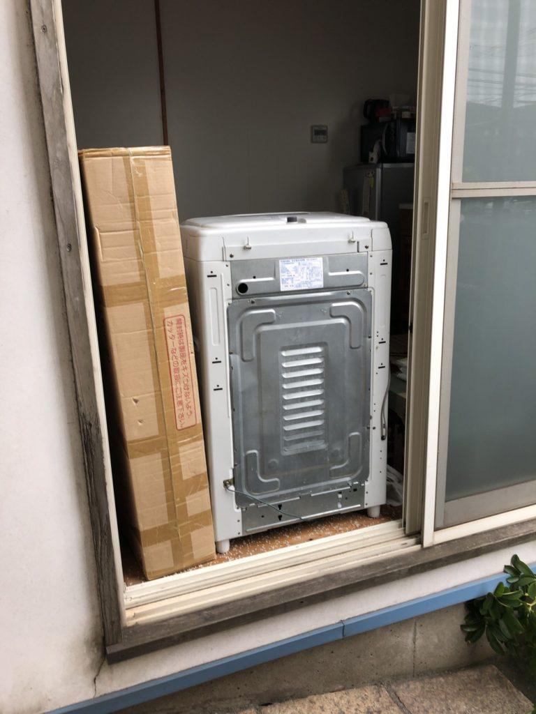 【大分市】洗濯機やすのこの回収ご依頼☆電話1本で回収できるところにご満足いただけました!