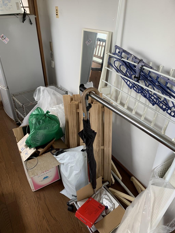 【宮崎市大和町】引っ越しに伴う不用品回収☆運べず困っていた荷物が片付きお喜びいただけました!