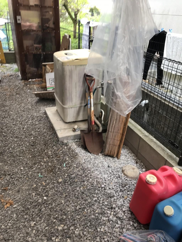 【宮崎市大塚町】屋外の洗濯機と自転車の回収☆スタッフの対応にも大変ご満足いただけました!