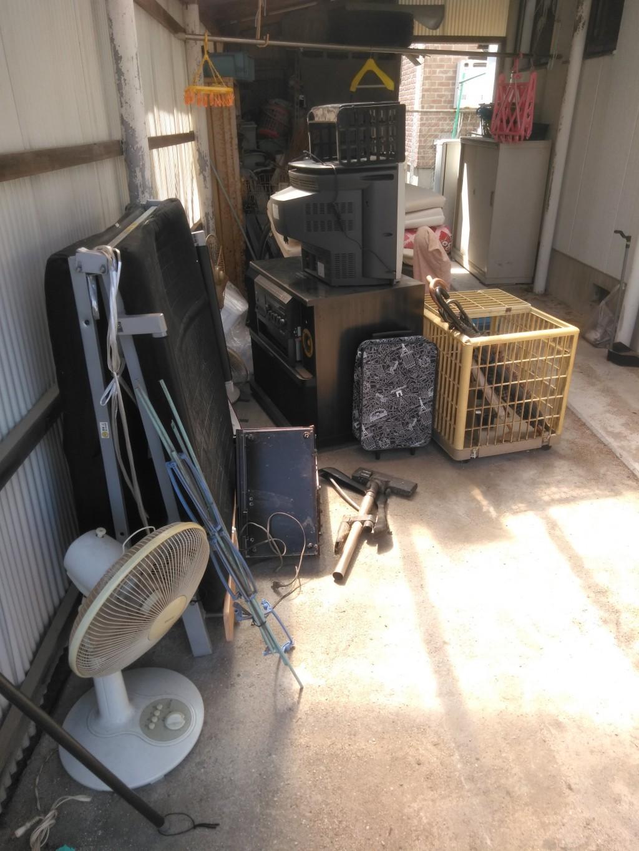 【四国中央市】2tトラック1台分の不用品回収・処分 お客様の声