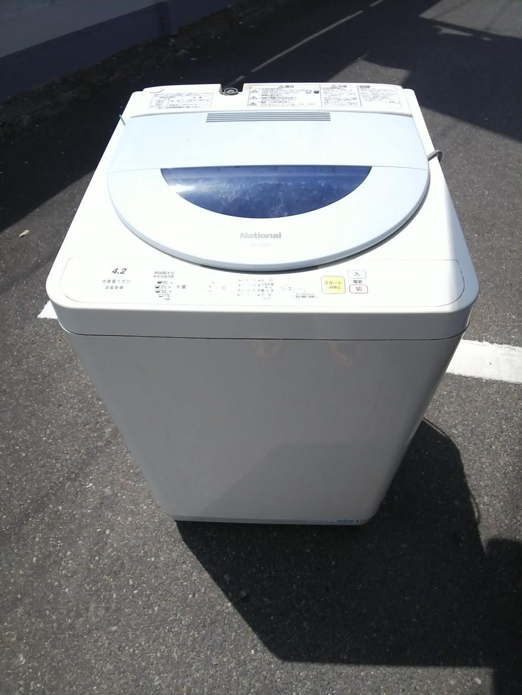 【福山市沼隈町】洗濯機の単品回収☆即日での素早い対応にご満足いただけました!