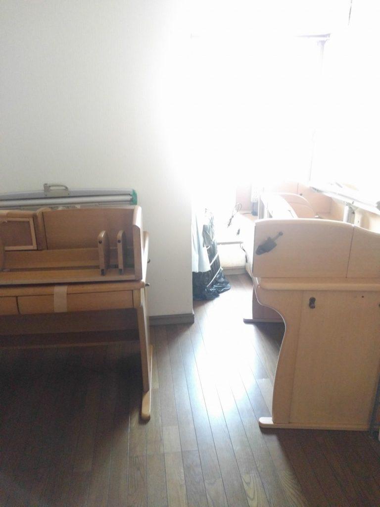 【北九州市門司区】学習机2台の回収ご依頼☆即日回収でご満足いただくことができました。