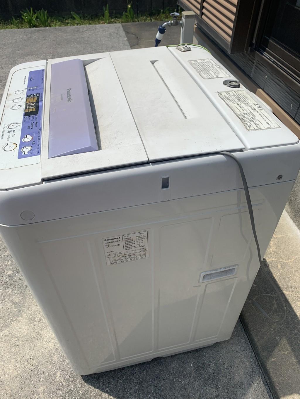 【北九州市門司区】洗濯機一台の回収 お客様の声