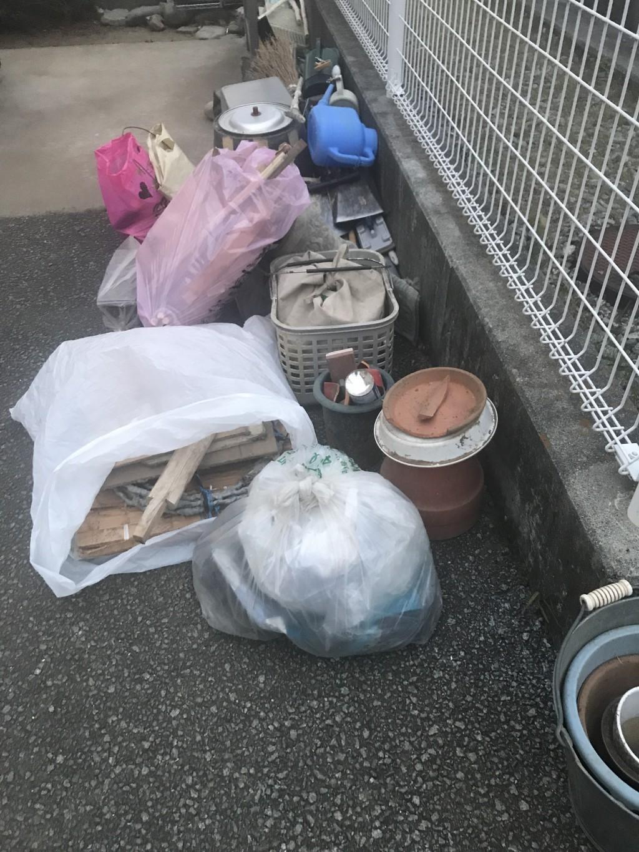 【笛吹市春日居町】扇風機、布団などの回収・処分 お客様の声