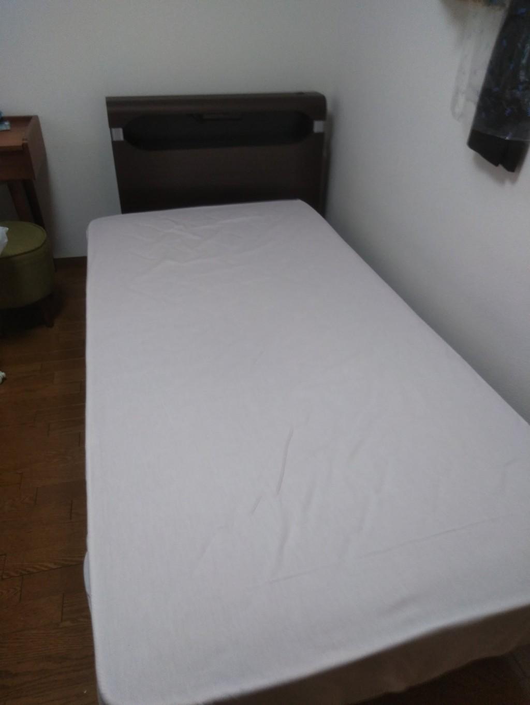 【徳島市沖浜町】シングルベッドの出張回収・処分ご依頼 お客様の声