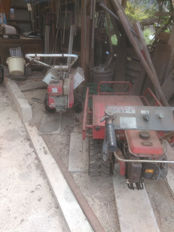 【西条市】耕運機や草刈り機の出張回収・処分のご依頼 お客様の声