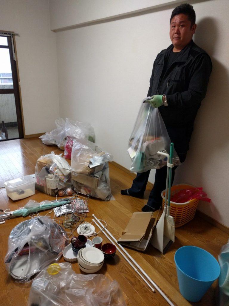 【下関市南部町】家庭ゴミの出張不用品回収・処分ご依頼 お客様の声