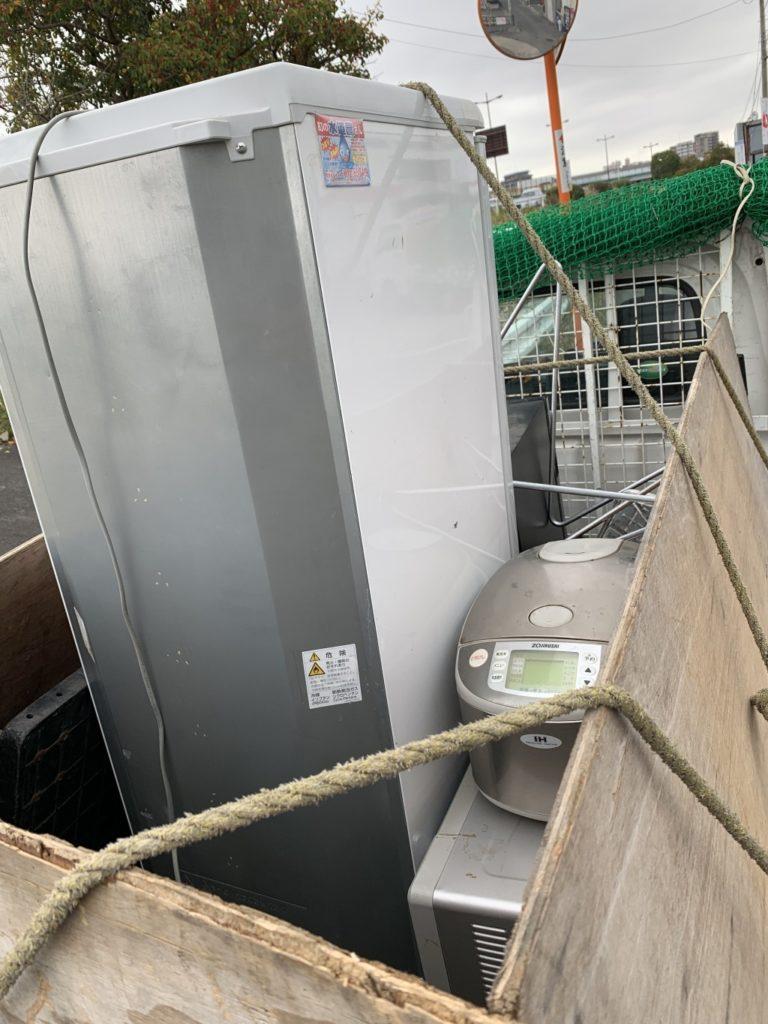 【福岡市東区】2トン車1台程度の処分と引越先へ荷物の移動のご依頼