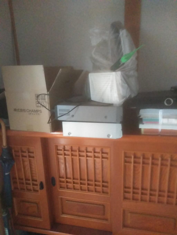 【松山市北梅本町】テレビなどの不用品を回収・処分 お客様の声