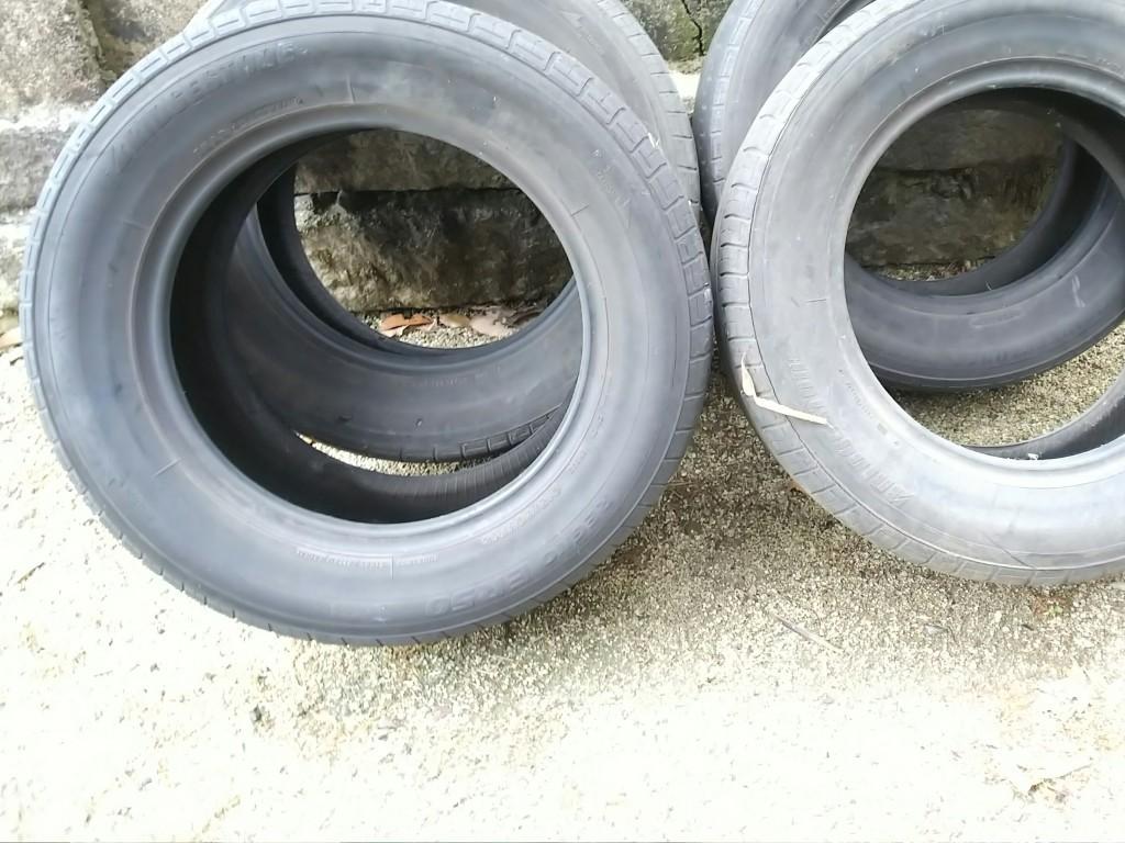 【福山市奈良津町】タイヤ4本の不用品回収・処分ご依頼 お客様の声