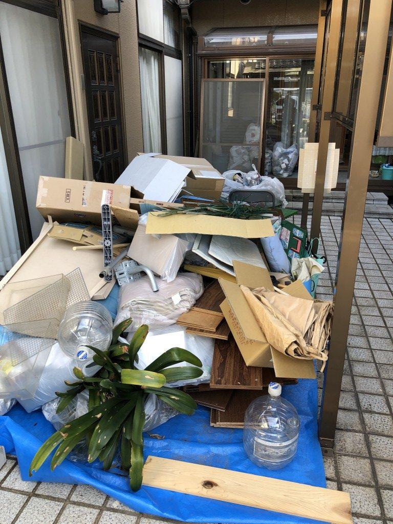 【加古川市加古川町】引越しで出る不用品回収のご依頼 お客様の声