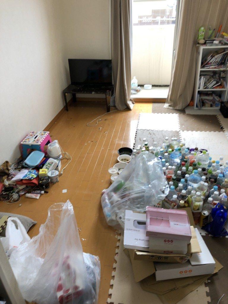 【甲賀市】大量ゴミの仕分け作業 出張回収・処分ご依頼 お客様の声