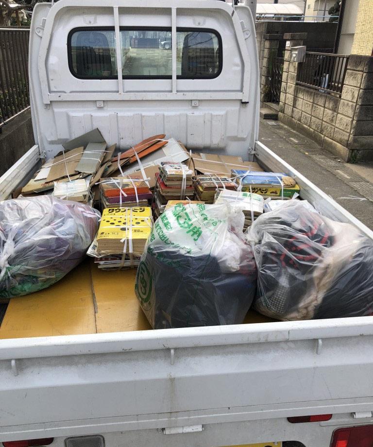 【船橋市栄町】衣類・雑誌類など回収処分ご依頼 お客様の声