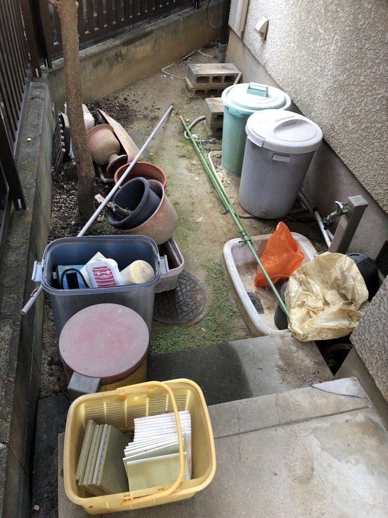 【川西市】軽トラック1台程度の引越し不用品回収 お客様の声