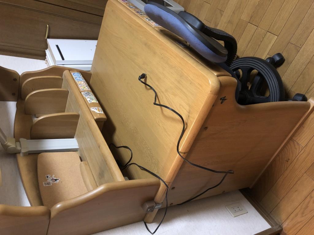 【草加市】学習机と椅子の出張不用品回収・処分ご依頼 お客様の声