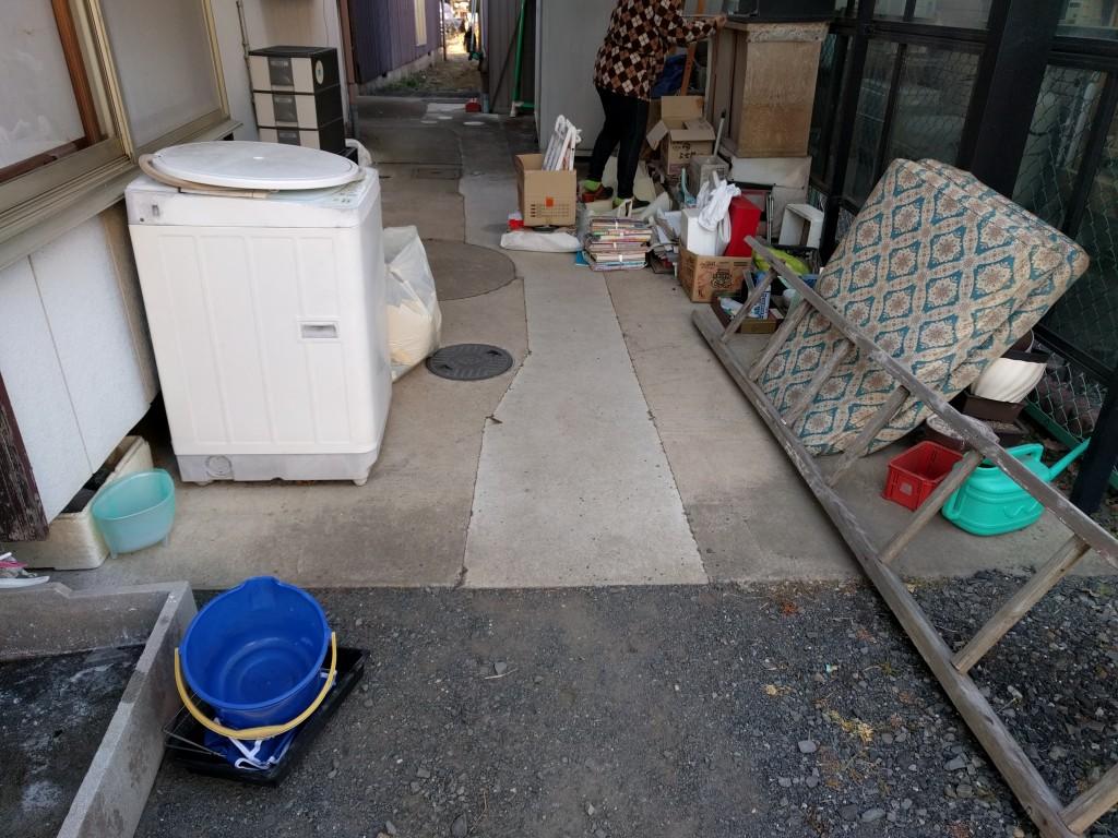 【城里町】家の取り壊しで大量に出た不用品の回収・処分 お客様の声