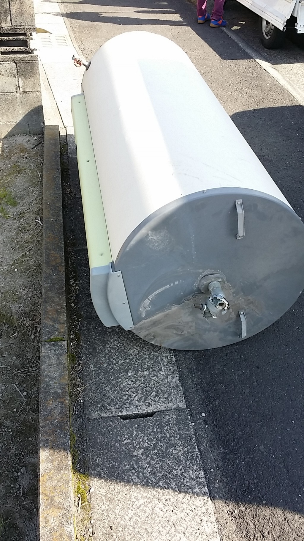 【霧島市隼人町】電気温水器の不用品回収・処分ご依頼 お客様の声